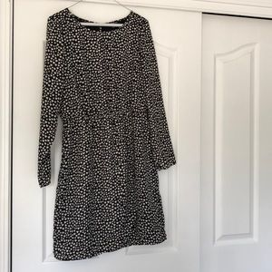 EUC - JCrew Factory Heart Dress - Size 8
